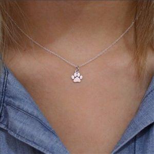 Jewelry - Silver Paw Necklace